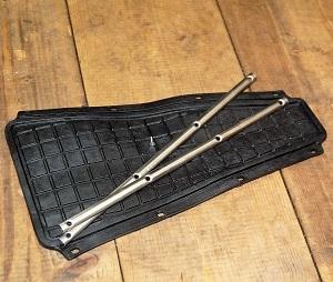 Tappetino Vespa PX con bacchette cromate centro moto jenner